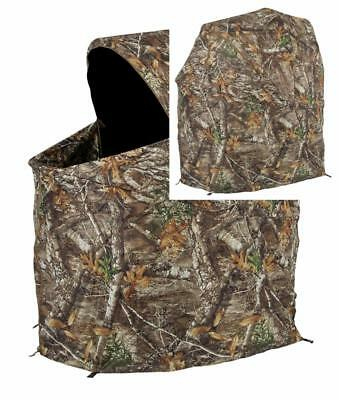 Pleasing Ameristep Tent Chair Easy Fold Over Ground Blind Realtree Inzonedesignstudio Interior Chair Design Inzonedesignstudiocom