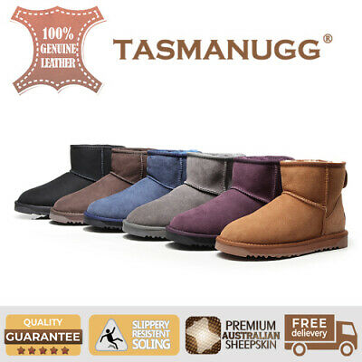 UGG TASMAN-Mini Ankle classic Boots,Premium Sheepskin,water-resistant,6 Colours