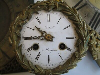 French clock movement Costard a Honfleur