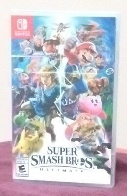 Super Smash Bros Ultimate Nintendo Switch BRAND NEW Factory Sealed FREE Ship