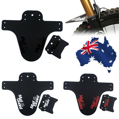 MTB Road Mountain Bike Bicycle Front Fender Mudguard Tire Tyre Mud Guard OZ