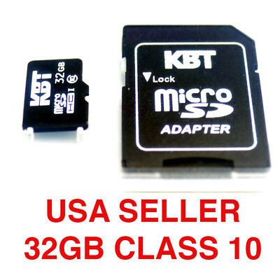 For cameraphone Micro SD Card Class10 Memory 32GB TF Card NEW CELL PHONE MEMORY