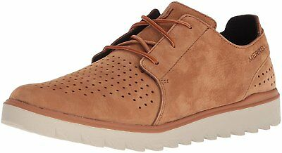 2418fa4ac0336 MERRELL MENS DOWNTOWN Lace Merrell Stone Oxford Dress Shoe Size 8.5 ...