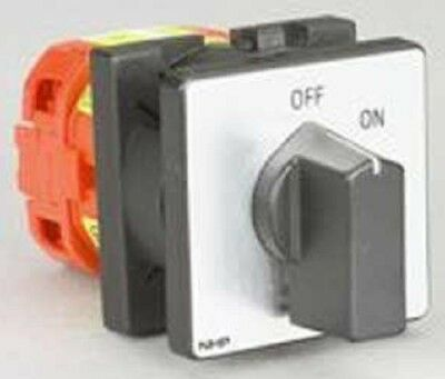 Elektra ON/OFF CAM SWITCH 25A 240V Panel Mounting*German Brand- 1-Pole Or 2-Pole