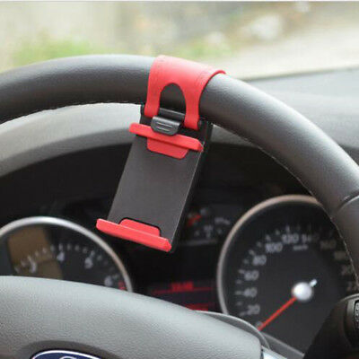 New generic Car Steering Wheel Universal Phone Holder Stand For Mobile Phone GPS
