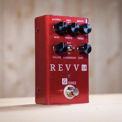 Revv Amplification G4 Distortion Pedal. Brand New From An Authorised Dealer!