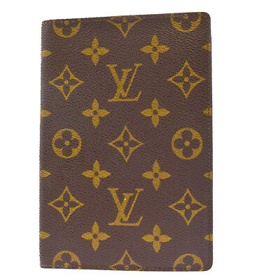 Authentic LOUIS VUITTON Bifold Multi Case Monogram Leather Brown France 09EK194