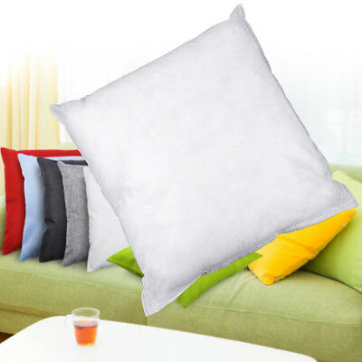 "2PC Cushion Inner Pads Inserts Fillers 16"" 18"" 20"" Cotton Inner Hotel Home Sofa"