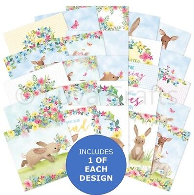 "Hunkydory The Square Little Book of Sweet Springtime - 5"" x 5"" Sample Pack 25x"