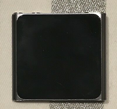 Apple iPod Nano 6th Generation Graphite (8 GB) With Cable, Housing & Charger