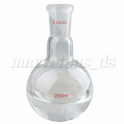 500ml 24/40 Glass Distillation Apparatus Laboratory Chemistry Glassware Kits NEW