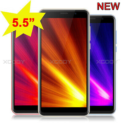 "New 5.5"" Large Screen 3G GSM Unlocked Android Quad Core 2SIM Mobile Smart Phone"