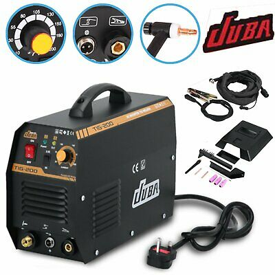 TIG Welder Inverter 230V / 200 amp, DC Portable Machine - TIG-200