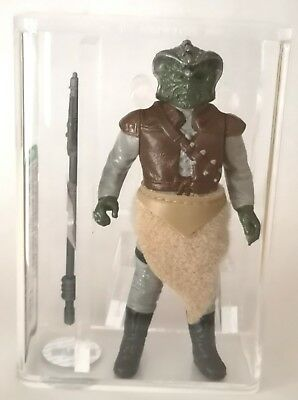 Vintage Star Wars Rotj Klaatu Flat Fur/ Painted Face Afa U85 No Coo