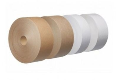 Brown Gummed Paper Water Activated Tape 50mm x 200M 60gsm GSI Tape