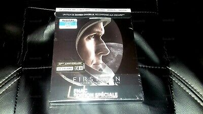 First Man Blu-Ray Steelbook 4K + 2D + Bonus Disc Fnac Exclusive [France]