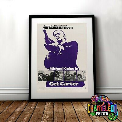 Get Carter Movie Poster In A3 A4 Michael Caine
