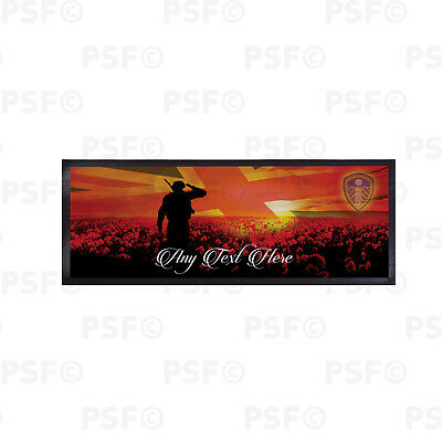 Leeds United FC Official Personalised We Will Remember Them Bar Runner LBR015
