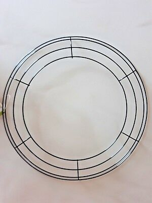 "15"" Lot of 1 Round Metal Wreath Frame Ring DIY Macrame Floral Crafts Wire Form"