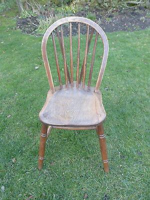 Vintage Hooped Back Kitchen/Dining Chair Elm, Ash + Beech