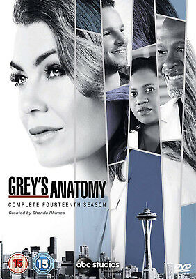 GREY'S GREYS ANATOMY COMPLETE SERIES 14 DVD Box Set 14th Season New Sealed UK