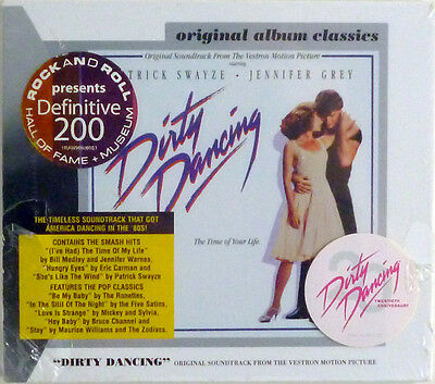 """""""Dirty Dancing Soundtrack"""" 1987 New CD Sealed ~ RCA 6408-2-R w/ FREE Shipping"""