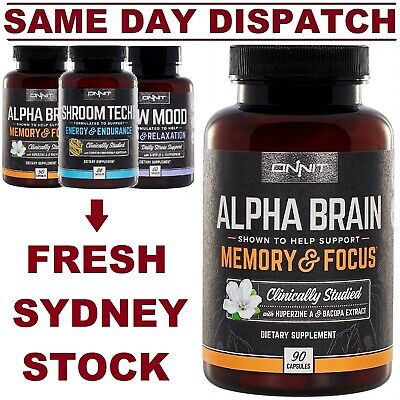 Onnit Alpha Brain Shroom Tech New Mood Joe Rogan JRE Nootropic COMBO DISCOUNTS!