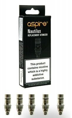 Aspire Nautilus Mini BVC Replacement Coils 0.7 | 1.6 | 1.8 ohm (Pack of 5)