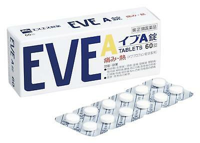 SSP EVE A 60 Tablets Headache Pain Relief Medicine Japan