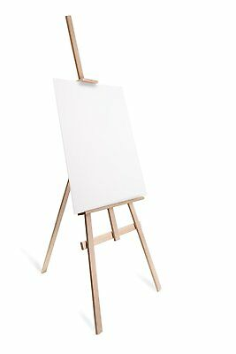 Studio Easel (1800MM HIGH) Display Pine Wood Canvas Picture Holder - colour