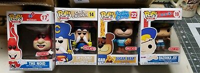 Funko Pop! Ad Icons Target Exclusive lot