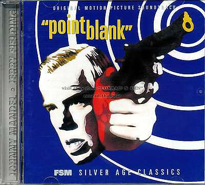 """Johnny Mandel """"POINT BLANK"""" + """"THE OUTFIT"""" score FSM 3000-Ltd CD sold out"""