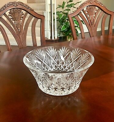 Waterford Crystal ~ CASSIDY BOWL ~ 10 INCHES ~ PERFECT WEDDING GIFT ~ MSRP $300