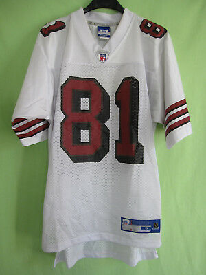 Maillot San Francisco 49ers Reebok Football Americain Owens #81 Jersey - S