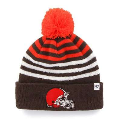 69bc0685f CLEVELAND BROWNS 47 Brand Youth NFL Yipes Cuff Knit Beanie -  17.95 ...