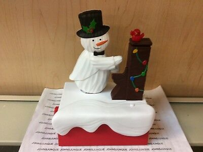 Piano Snowman Snow Many Memories Hallmark 2018 Collection #2 In Series New