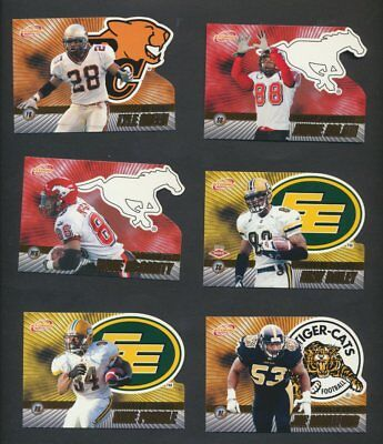 2003 CFL Pacific Atomic Gold Variant  Lot of 18  Serial Numbered, Calvillo  CFL