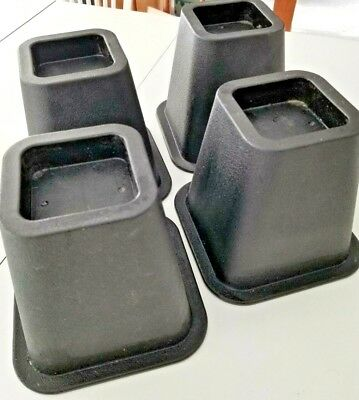 6 Inch Bed Risers Adds Additional E Under The For Storage Set