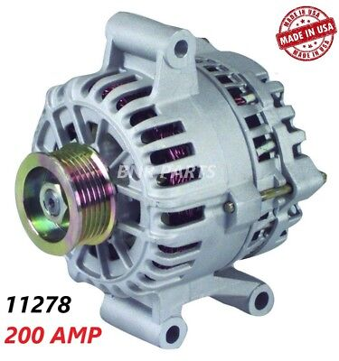 200 AMP 11278 Alternator Ford Ranger Mazda B4000 High Output Performance HD NEW