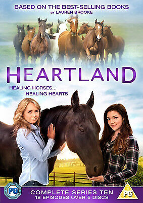 HEARTLAND COMPLETE SERIES 10 DVD Tenth Season All Episodes UK Release NEW R2