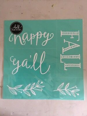 NEW Happy Fall Y'All Chalk Couture Transfer
