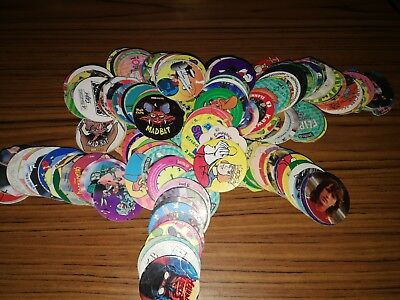 lots pogs pog looney toons