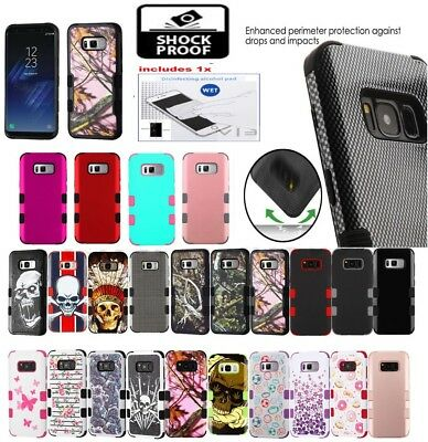 For Samsung GALAXY S10 E Impact TUFF HYBRID Armor Rubber Rugged Case Phone Cover