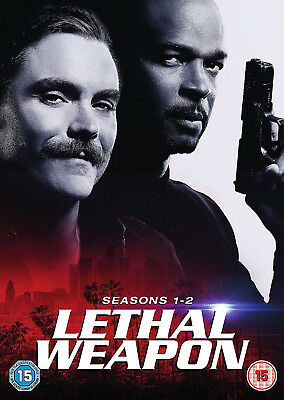 LETHAL WEAPON COMPLETE SERIES 1 & 2 DVD All Season Original UK New Sealed R2