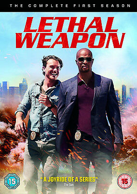 LETHAL WEAPON COMPLETE SERIES 1 DVD First Season Damon Wayans UK New Sealed R2 x