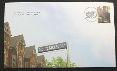 Canada Post 2019 Black History Month: Official First Day Cover Albert Jackson