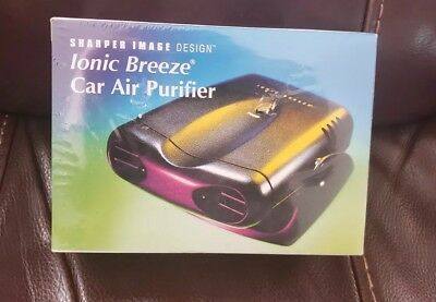 Sharper Image Design Ionic Breeze Personal Air Purifier New 1899
