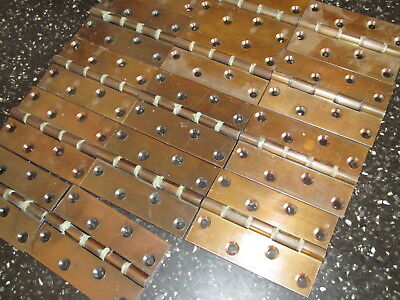 """BMA BRASS HINGES/BUTTS 4"""" x 2 5/8"""" Washered (BMA = BRONZE METAL ANTIQUE)"""
