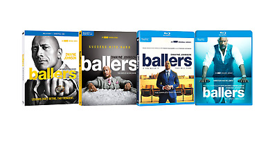 Ballers - The Complete Season 1 2 3 4 (Blu-ray, 6-Disc Collection) Brand New