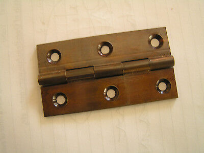 """Bma Solid Brass Hinges/Butts 3"""" X 1 5/8"""" (Bronze Metal Antique) Pair"""